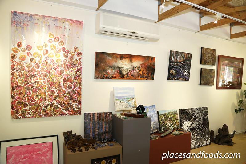day 5 swan valley Maalinup Aboriginal Gallery