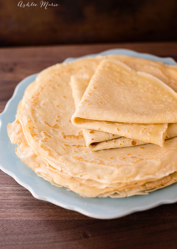 crepes are easy to make and delcious