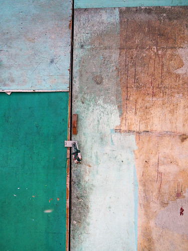 Yangon Painted Plywood Abstract