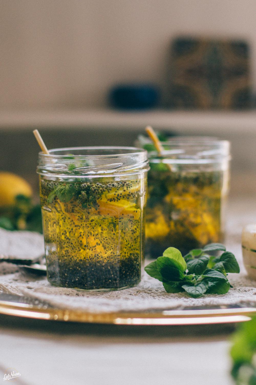 Persian Chia Seeds Drink for Nowruz   Bevanda di Semi di Chia alla Persiana per Nowruz   Lab Noon #PFBNowruz-27