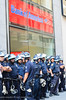 Cops Protect Bank of America