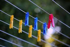 unemployed clothespins