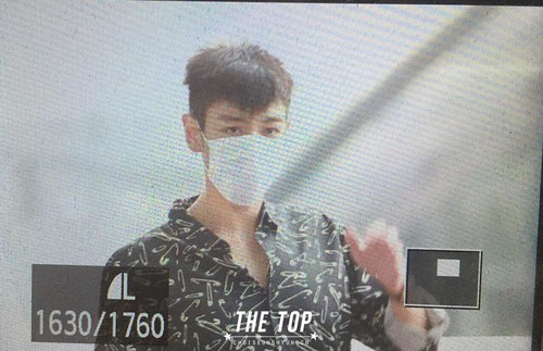 Big Bang - Incheon Airport - 19jun2015 - The TOP - 01