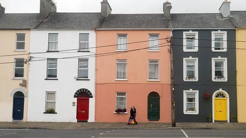 Colourful street in Kilrush