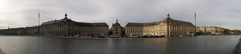 Place de la Bourse panorama