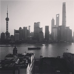 A friend sent me this pic from Shanghai. #ViewFromTheRoom #Splendid