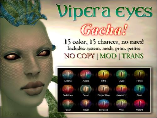 Devae. Eyes: Vipera Gacha!
