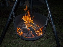 outdoor grill(0.0), grilling(0.0), barbecue(0.0), meat(0.0), forge(0.0), food(0.0), barbecue grill(0.0), fire(1.0), iron(1.0), flame(1.0), campfire(1.0),