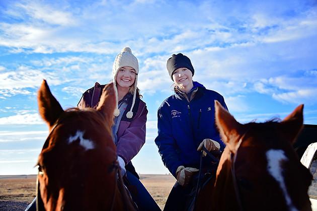 Happy to be Horseback