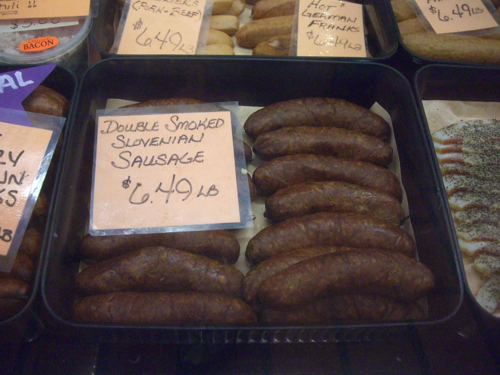 West End Market Slovenian Saugage