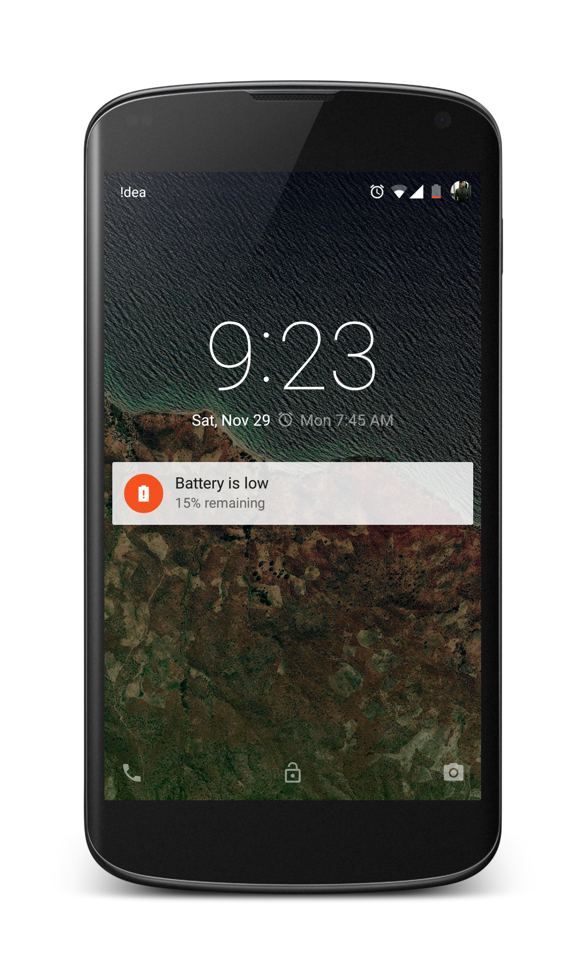 Lock Screen Notification