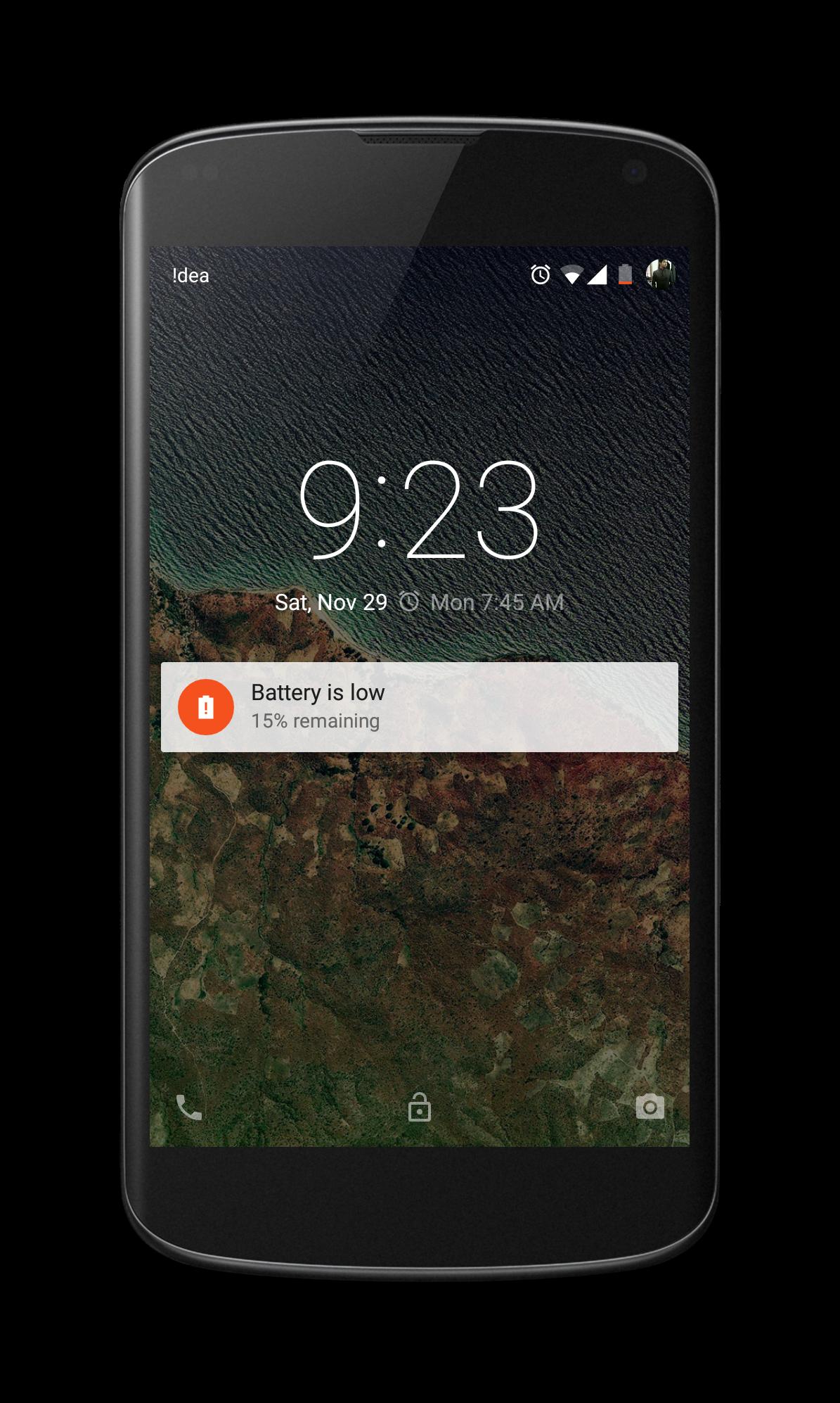 Lock Screen Notification