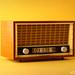 Vintage Radio by KOS brick