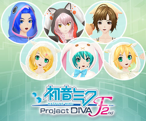 Hatsune Miku: Project DIVA F 2nd December Add-on Pack