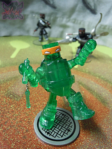 Nickelodeon  TEENAGE MUTANT NINJA TURTLES ; MINIMATES :: MUTAGEN MICHELANGELO i / ..KMART Exclusive (( 2014 ))
