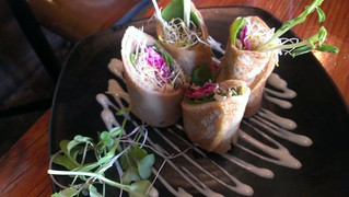 Buckwheat Crepe at Yong Green Food