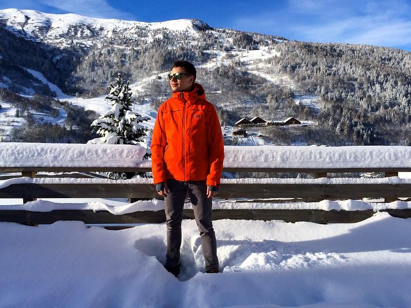 pózolj rengeteg hóval