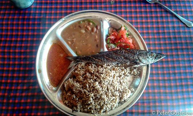 Lunch in Mpanda