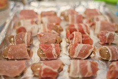 bacon, pork, charcuterie, red meat, meat, salt-cured meat, prosciutto, food, dish, cuisine, cooking,