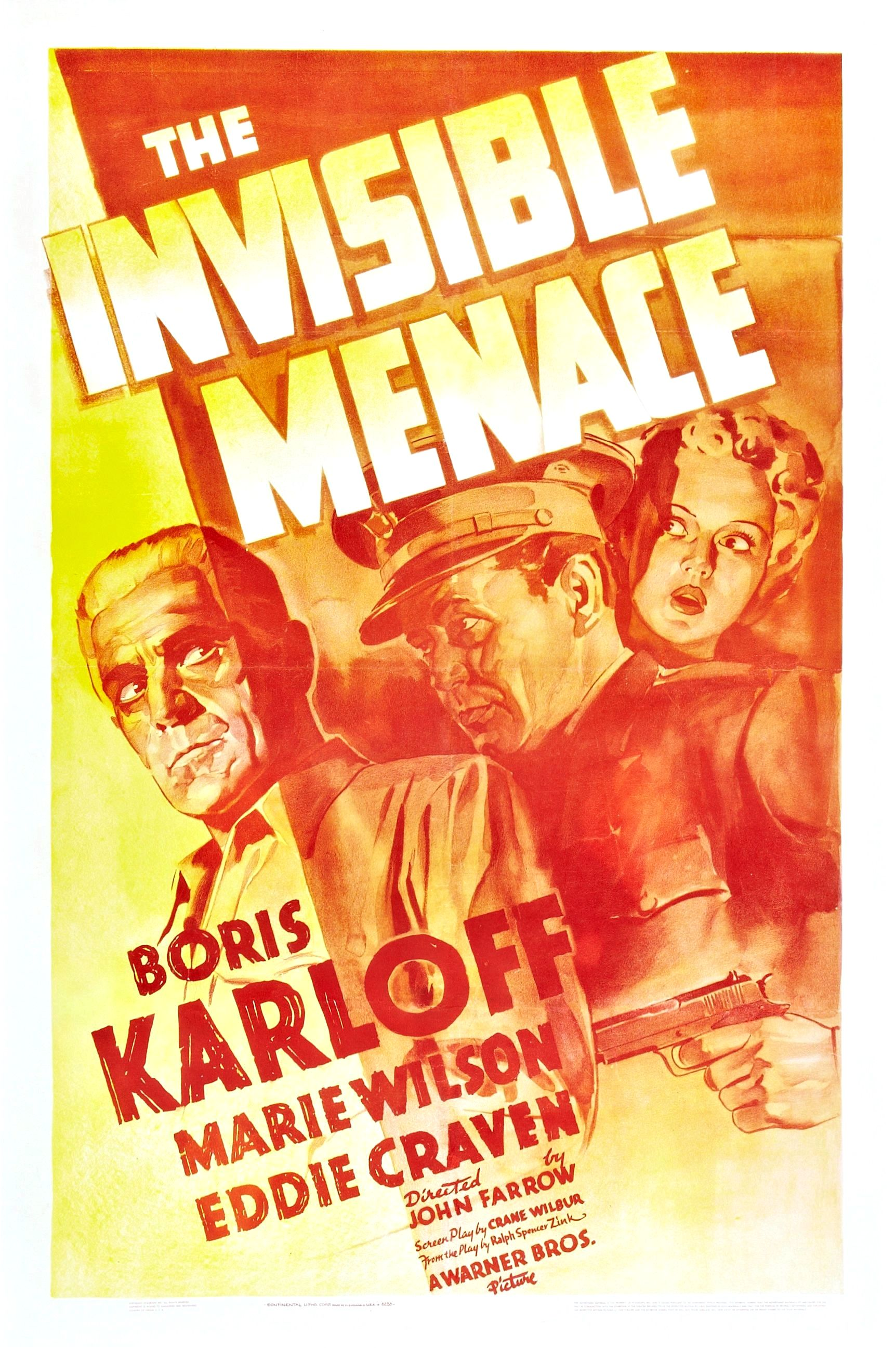 The Invisible Menace (1938)