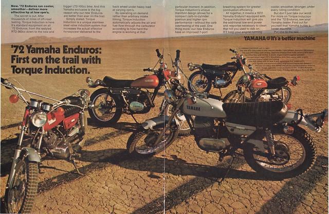 Yamaha enduros