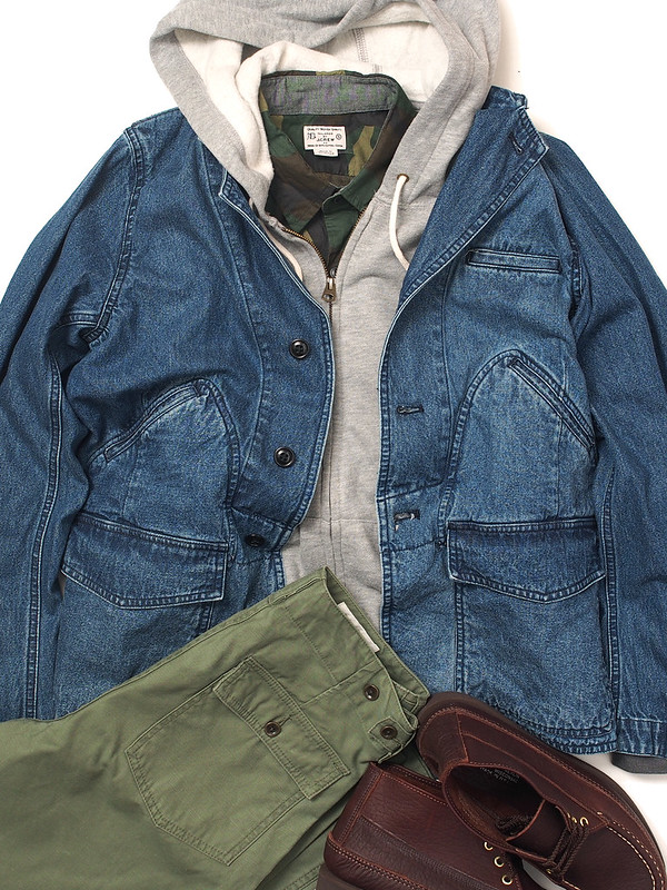 Five Brother / Denim Work Jacket