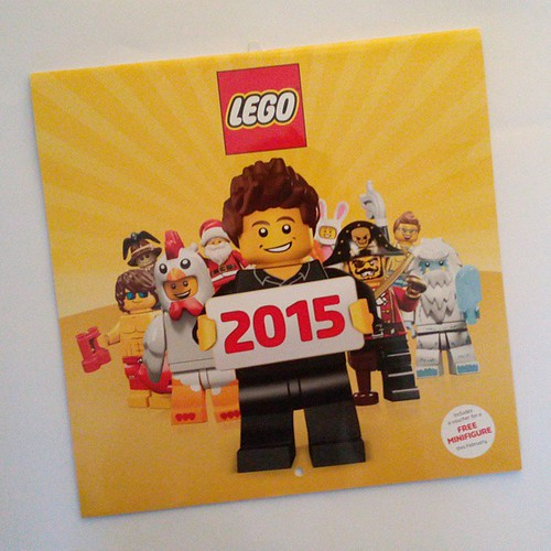 LEGO Calendar 2015