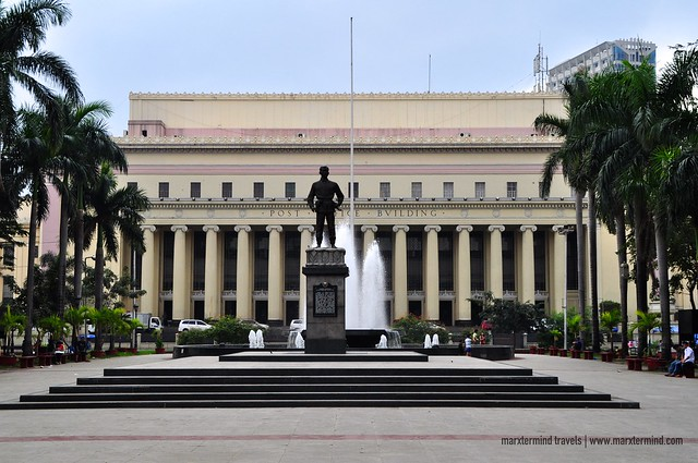 Manila Post Office Building in Manila