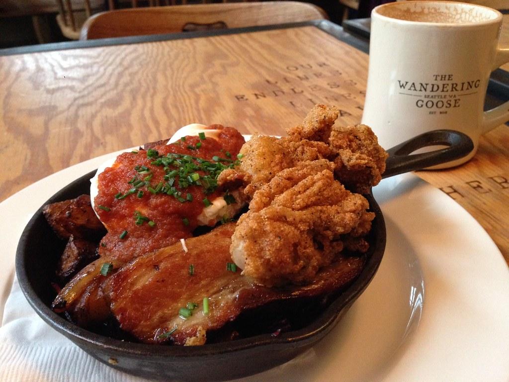 Hangtown Fry Platter