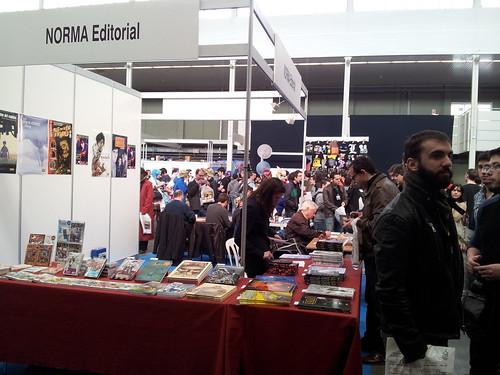 9º Salón del Cómic y Manga de Castilla y León. Expositores.