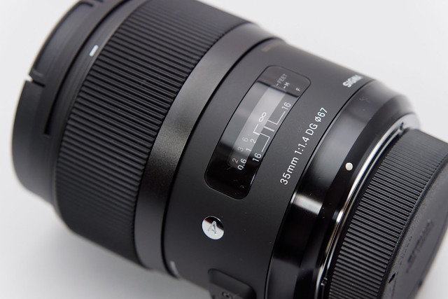 SIGMA 35mm F1.4 DG for Nikon