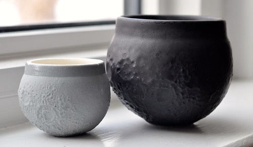 3D printed moon shot espresso cup