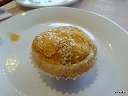 Baked Mushroom with Chicken Puff Pastry