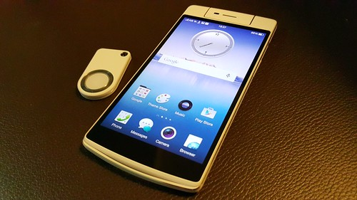OPPO N3 และ O-Click 2.0