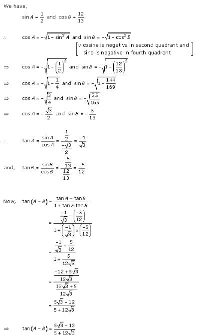 RD-Sharma-Class-11-Solutions-Chapter-7-Trigonometric-Ratios-Of-Compound-Angles-Ex-7.1-Q-5