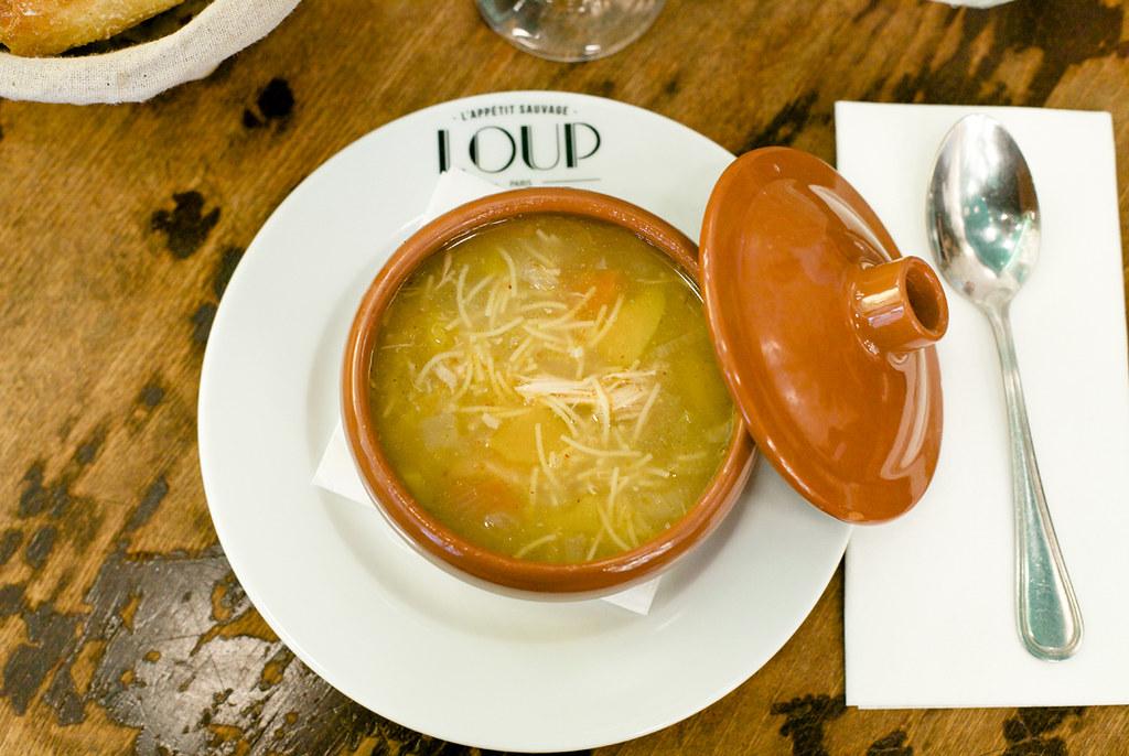 Loup, Restaurant