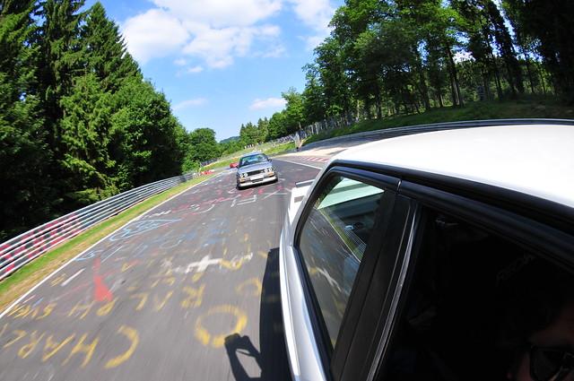 BMW M3 parade lap 8