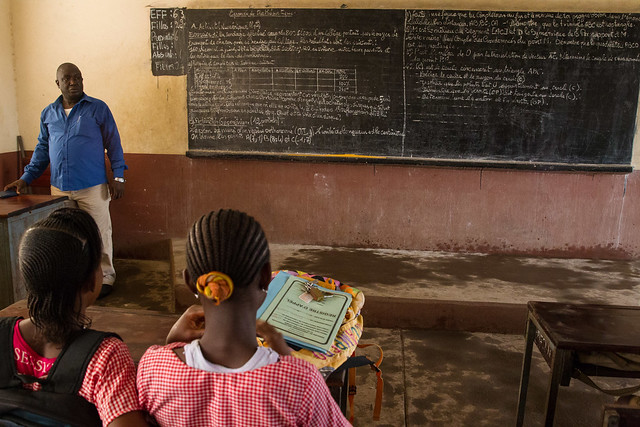 Reopening of schools in Guinea