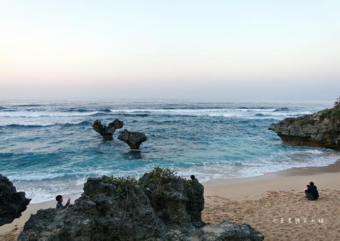 15 日本沖繩租車自由行 古宇利大橋 心型岩