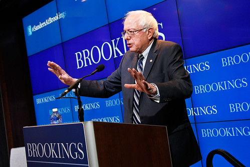 The Honorable Bernie Sanders, U.S. Senator (I-Vt.), delivers an address on how to spur the American economy