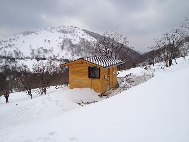 藤原岳 藤原山荘 新トイレ