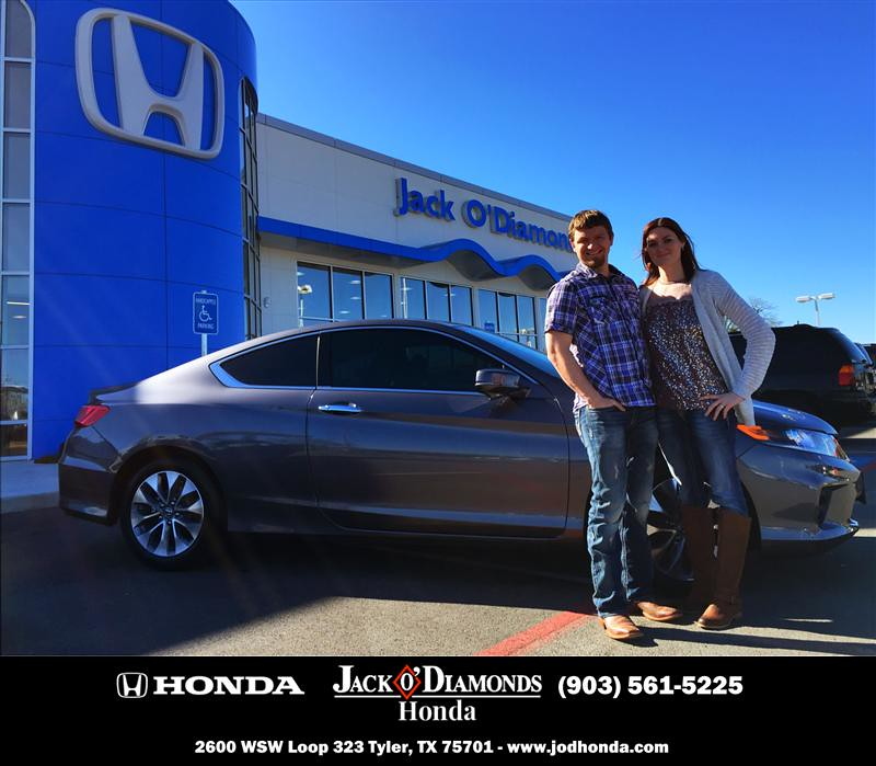 Jack O Diamonds Honda Tyler Customer Reviews East Texas Dealer Testimonials    Jessica Worley