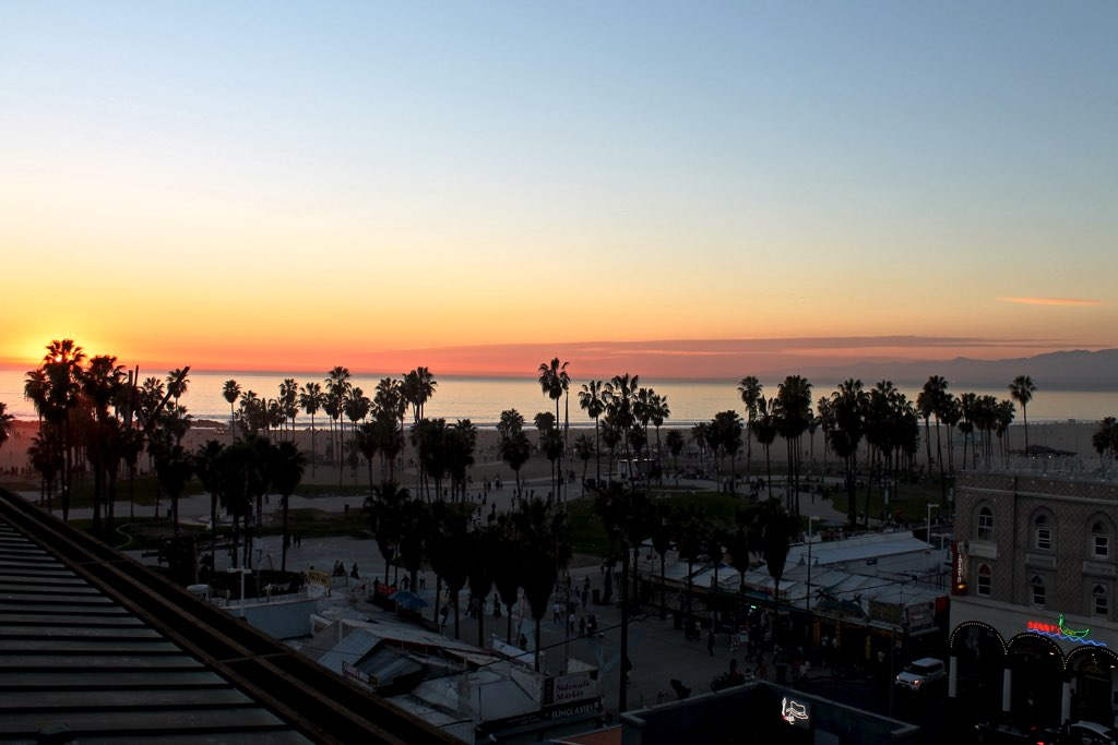 Venice Beach, CA #sunset #travel #la