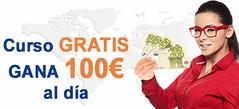 curso gratis gana 100€ al día