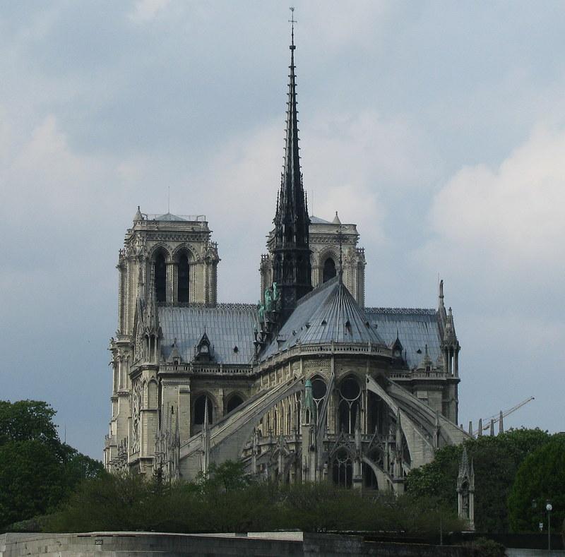 East facade of Cathédrale Notre-Dame de Paris