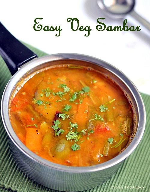 Kadamba sambar recipe