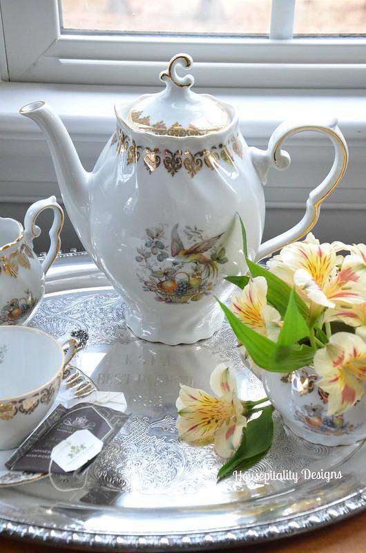 German Porcelain Tea Set-Housepitality Designs
