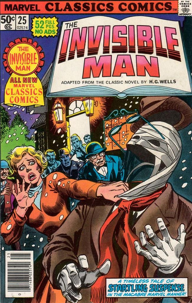 Marvel Classics Comics 25 cover