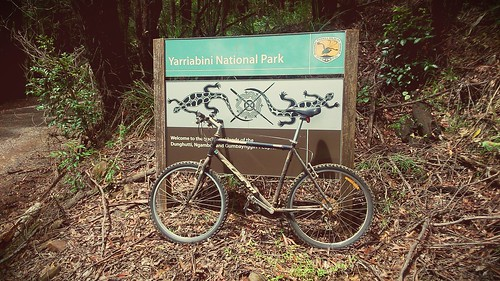 #Yarriabinni #Nationalpark (went for a ride on Sara's bike from Mum & Dad's to the edge of the park).