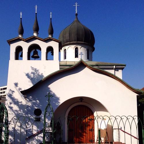 Iglesia de la Santísima Trinidad y Nuestra Señora de Kazán - Ñuñoa, Santiago (Chile)